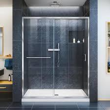 Shower Door Shop Shower Lowes Sliding Shower Doors Glassor At Loweslowes 96