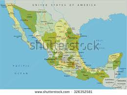 political map of mexico mexico map vector free vector stock graphics images