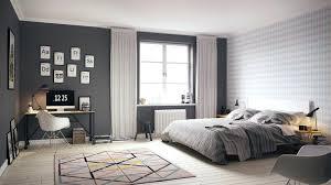 d o chambre scandinave deco chambre nordique chambre scandinave grise blanche moderne