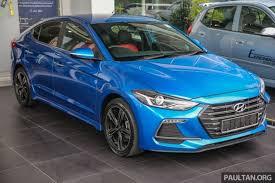 hyundai elantra price in malaysia 2017 hyundai elantra ad launched in malaysia 1 6 turbo 2 0 na