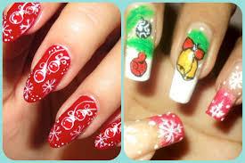 christmas nail art design collab with beyonceesha youtube