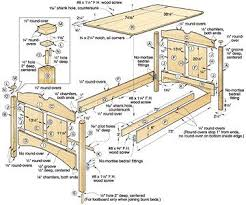 Free Bunk Bed Plans Pdf by 22 Best Loft Bed Ideas Images On Pinterest 3 4 Beds Lofted Beds