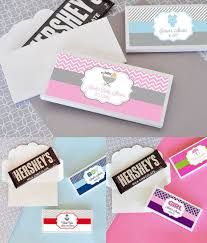 candy bar for baby shower baby shower candy bar wrapper cover personalized candy