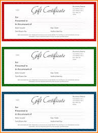 6 word gift certificate template memo templates