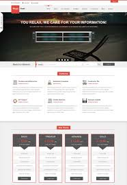 50 best hosting website templates free u0026 premium freshdesignweb