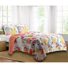 greenland home fashions watercolor dream quilt set hayneedle