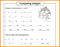 integers and absolute value worksheets free library math grade 7