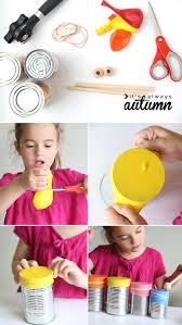 kid made drum set and kazoo easy indoor craft it u0027s always autumn