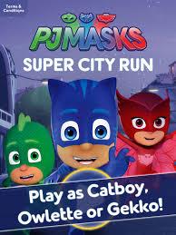 pj masks super run hero filled adventure