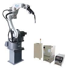 durable cnc welding motoman 6 axis industrial robot arm with high