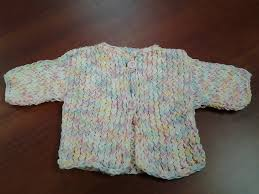 baby sweaters ravelry loom knit baby sweater pattern by ruth a volk