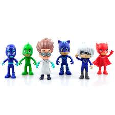 pj masks catboy owlette gekko cloak action figure doll kid toy