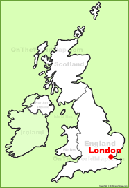 map of uk location on the uk map