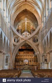 scissor st cathedral nave st cross arches scissor arch and