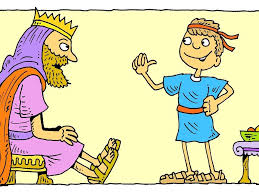 free bible images david trusts in god and goes out to fight the