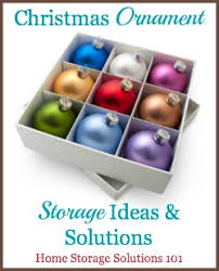 ornament storage solutions to keep them safe secure