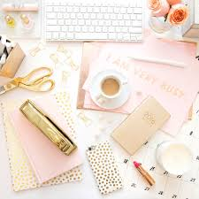 Girly Desk Accessories 25 Desk Accessories That Will Make Your Workspace Chic Af Gold