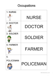 occupation worksheet free esl printable worksheets made by teachers
