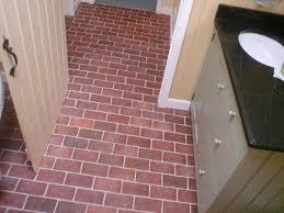 Red Brick Linoleum Flooring by Bathrooms Inglenook Brick Tiles Thin Brick Flooring Brick