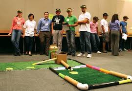 build your own mini golf for charity