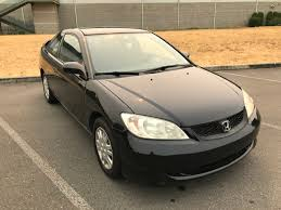 honda civic 2004 coupe 2004 honda civic lx 2dr coupe w side airbags in kent wa car guys