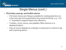 Pop A Top Bar Menu Form Fill In And Dialog Box Session Ppt Video Online Download