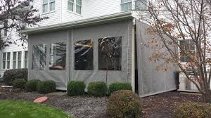 All Season Patio Enclosures Drop Curtains Enclosures Kreider U0027s Canvas Service Inc