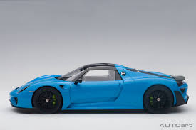 Porsche 918 Blue - dtw corporation rakuten global market autoart 2015 model