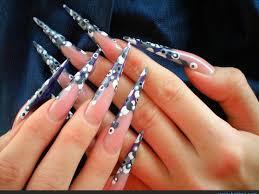 nail polish long nails acrylic designs awesome designer nail