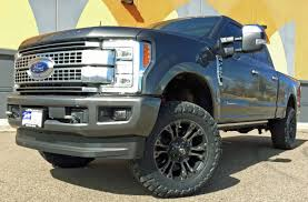 Ford F350 Truck Wheels - 2017 ford super duty f350 platinum ready lift level fuel wheels