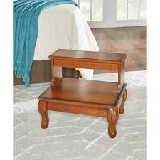 cherrywood finished step stool free shipping today overstock
