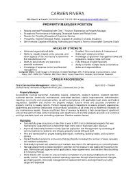 property manager resume sample assistant property manager