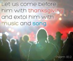 o come let us sing unto the lord let us make a joyful noise to
