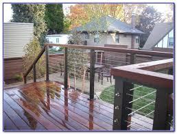 steel deck railing design ideas decks home decorating ideas
