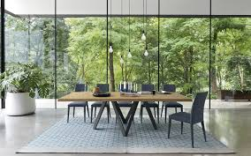Modern Wood Dining Room Tables California U0027s Largest Calligaris Showroom Announces Modern Dining