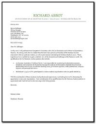 cover letter examples for resume for college students cover