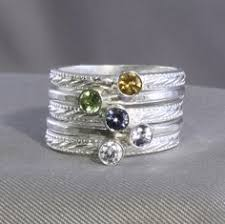stackable engraved mothers rings these stackable birthstone rings with names engraved on the