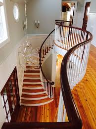 curved staircase atlanta stair company vision