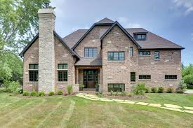 house front elevation new custom homes globex developments