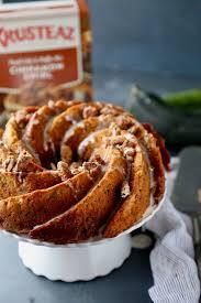 zucchini crumb bundt cake the seaside baker