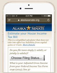 Alaska travel calculator images Here 39 s how much a state income tax would cost you jpg