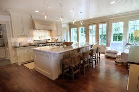 open kitchen floor plans with islands open floor plan kitchen with focal point white island and serves bar