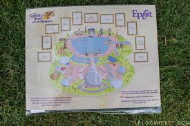 Epcot World Showcase Map Review Figment U0027s Brush With The Masters Scavenger Hunt Blog Mickey