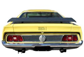 Black Mustang Mach 1 Automobile 1971 Ford Mustang Mach I Coupe Grabber Yellow With