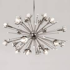 Lighting Chandeliers Modern Sputnik Nickel Chandelier Modern Chandeliers Jonathan Adler