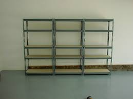 Heavy Duty Garage Shelving by Heavy Duty Metal Garage Shelves Storage