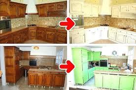 peindre des armoires de cuisine en bois relooker armoire cuisine cuisine teindre armoire de cuisine en bois