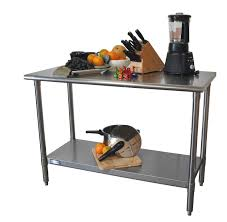 Commercial Kitchen Island Furnitures Prep Table Stainless Steel Commercial Kitchen