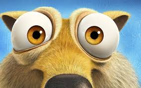 download wallpapers scrat characters 2016 ice age collision