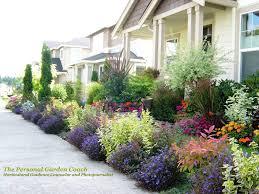 garden design with flower landscape photography